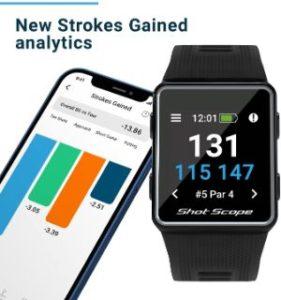 Shot Scope V3 GPS Watch - Affordable Golf GPS Watch