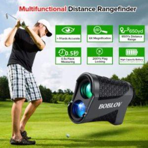 Boblov 650 yards Golf Rangefinder Review