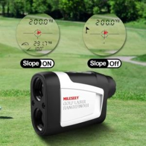 MiLESEEY golf rangefinder with slope on/off review