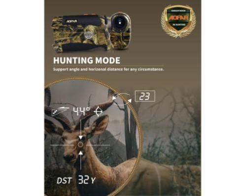 AOFAR HX-1200T Range Finder for Hunting Archery Review
