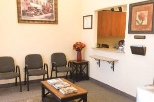 Patient Waiting Area in Plano TX Dentist Office