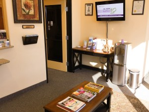 Plano Dental Office Reception Area