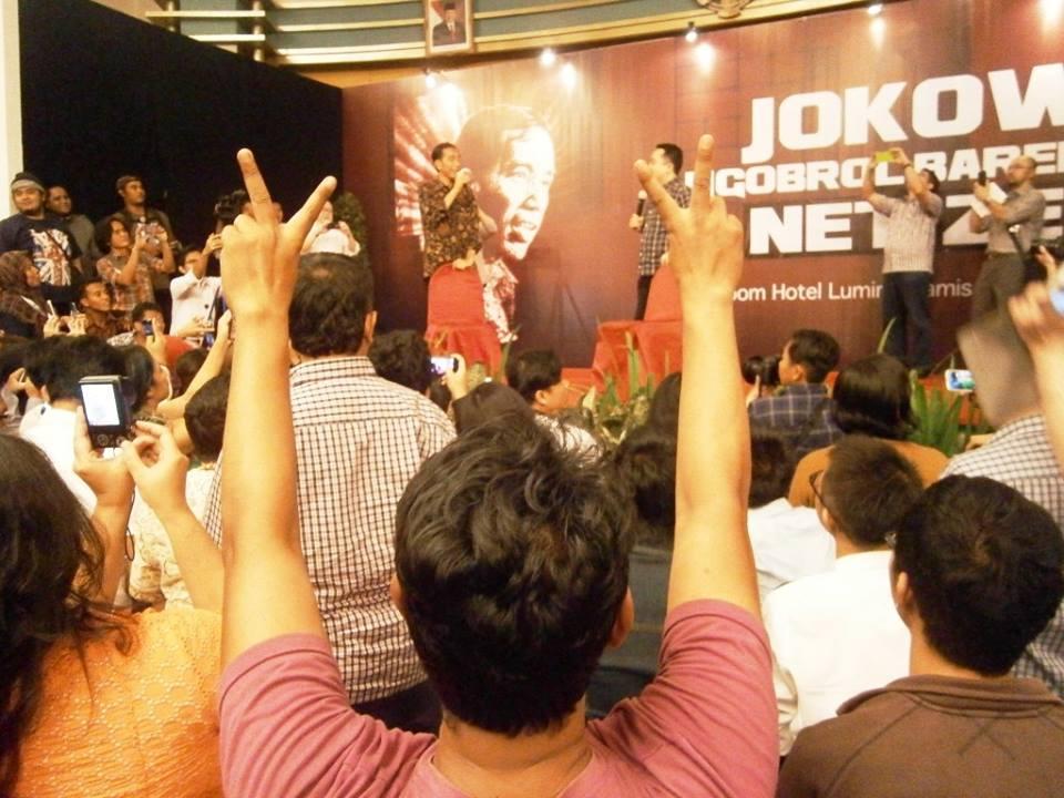 Blogger Lebih Pro Jokowi Jk Daripada Prabowo Hatta Oleh