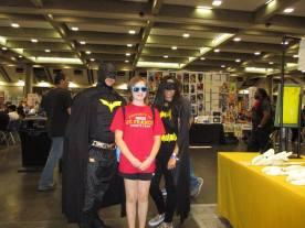 Melinda and Batman