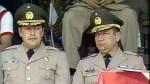 Generals Casanova (left) and Garcia (right)
