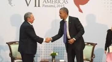 Raul Castro & Barack Obama