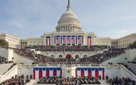 U.S. Capitol for President Obama's Inauguration, Jan. 2013