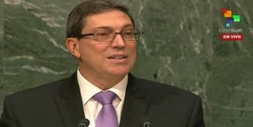 Foreign Minister Bruno Rodriguez
