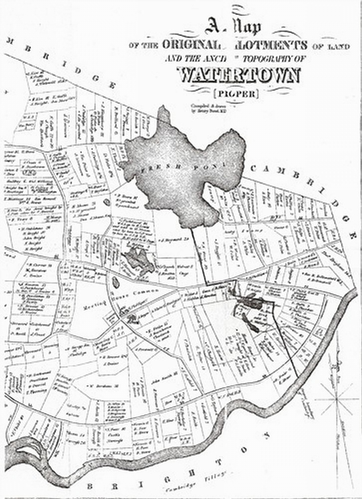 Watertown Massachusetts 238 Years Ago