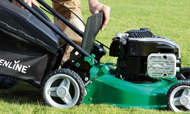 Aldi Gardenline Petrol Lawn Mower