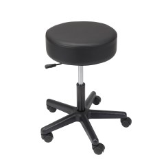 Adjustable Height Chairs Cathedral Padded Seat Revolving Pneumatic Stool Plastic 13079 Jpg