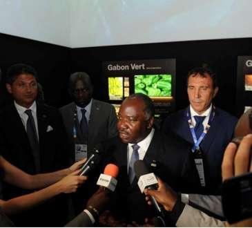 Ali Bongo Ondimba Milan en Italie pour lexposition 01 - Gabon: SCULPTONS L'AVENIR