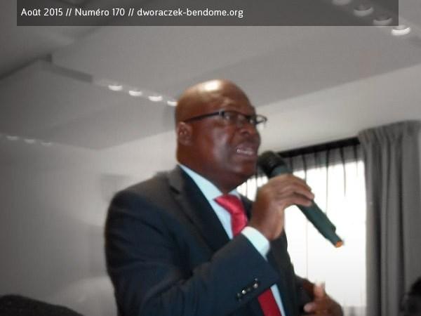 Jean de Dieu Moukagni-Iwangou pour un « Impeachment » plus exactement une destitution d'Ali Bongo par la haute cour de justice Gabonaise