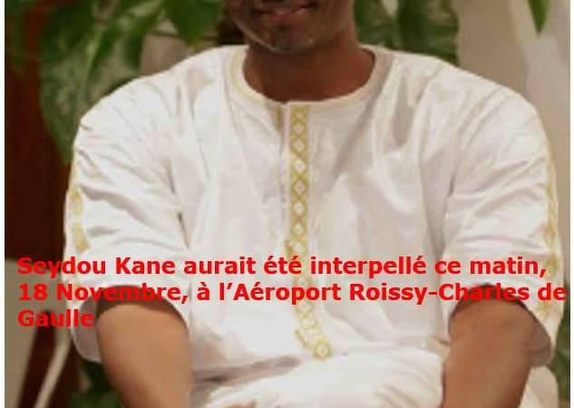 Rumeur : France/Gabon, Seydou Kane aurait été interpellé ce matin, 18 novembre, à l'Aéroport Roissy-Charles de Gaulle