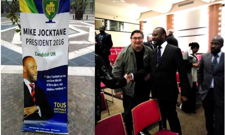 UNION NATIONALE/MIKE JOCKTANE-CANDIDAT AU PRIMAIRE : RENCONTRE AVEC LA DIASPORA GABONAISE DE FRANCE