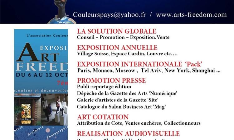 Peinture : Le Gabon présent à l'exposition Art Freedom de Paris
