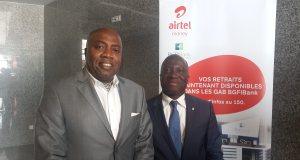 Airtel Money assure désormais le retrait d'argent sans carte dans les GABS BGFIbank