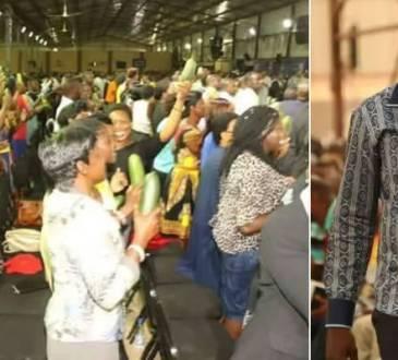 Un pasteur vend des concombres oints à ses fidèles (photos)