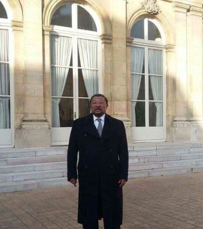 Petit cafouillage sur la visite de Jean Ping à Paris