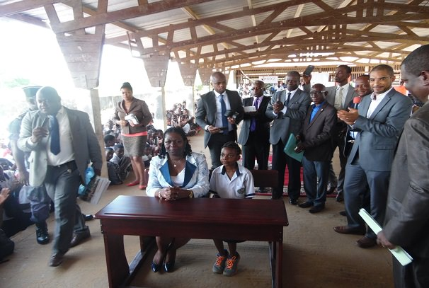 Gabon : Bouffée d'oxygène pour le Lycée de Sibang
