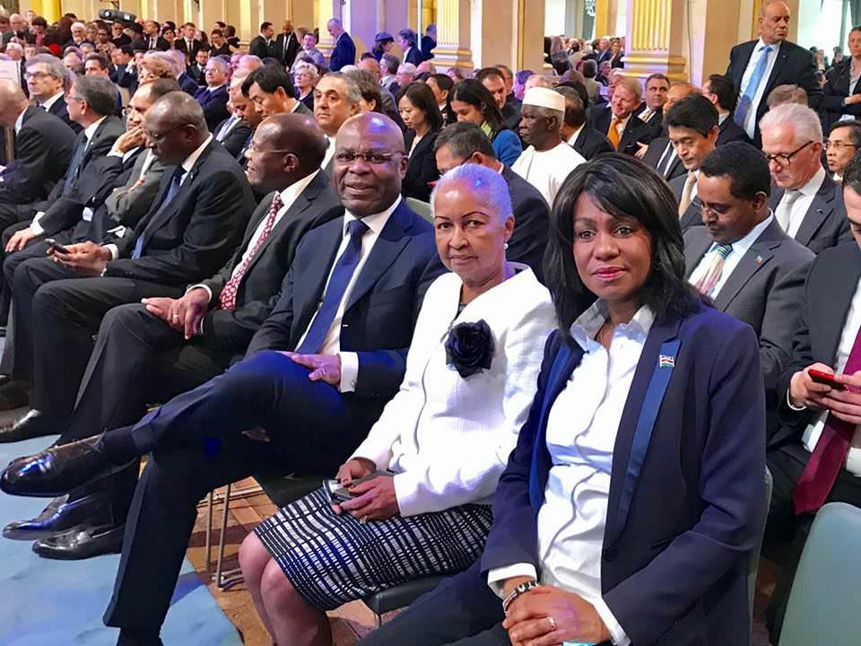 france ngoyo moussavou a represente ali bongo a la ceremonie officielle dinvestiture demmanuel macron - France : Ngoyo Moussavou a représenté Ali Bongo à la cérémonie officielle d'investiture d'Emmanuel Macron