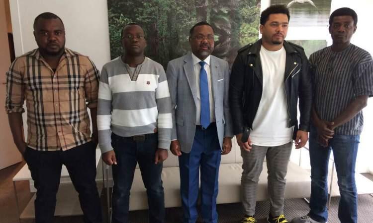 22 juillet 2017 Gabon Diaspora Les Panthères de Paris reçu par S.E.M Flavien Enongoué - Gabon-Diaspora - Les Panthères de Paris, reçu par S.E.M Flavien Enongoué