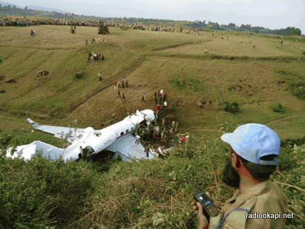 Equateur : un avion s'écrase à Ingende