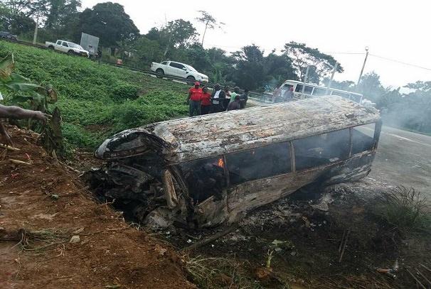 Gabon : 7 personnes tuées dans un accident de circulation de Kango