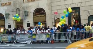 Gabon : Ali Bongo accueilli à New - York pour de l'argent à 100$ par personne soit 50.000 Fcfa .