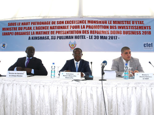 rdc lanapi propose la reduction du cout de creation dentreprise - Doing business : la RDC compte améliorer davantage le climat des affaires en 2019