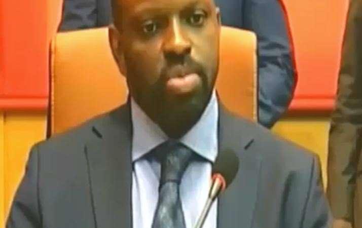 Gabon- Fabrice Andjoua Bongo Ondimba, passation de charge à la DGBFIP