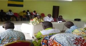 MOABI/GABON : Josué Mbadinga solidaire et proche des siens