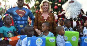 Noel 2017 « à jamais gravée dans les cœurs » de 3000 enfants grâce à Dominique Ouattara