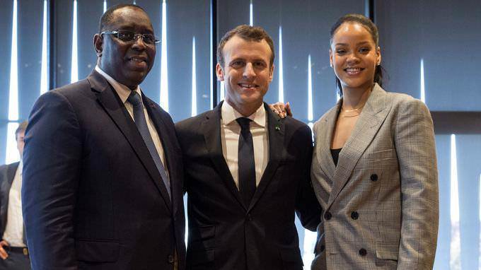 Emmanuel Macron au Sénégal: «L'éducation reste la condition de la sécurité, de la stabilité du développement durable»