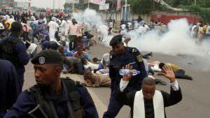 PROMESSE DE SANCTIONS DES AUTEURS DE LA REPRESSION DE LA MANIF DU CLC EN RDC : Effet d'annonce ou annonce sans effet?