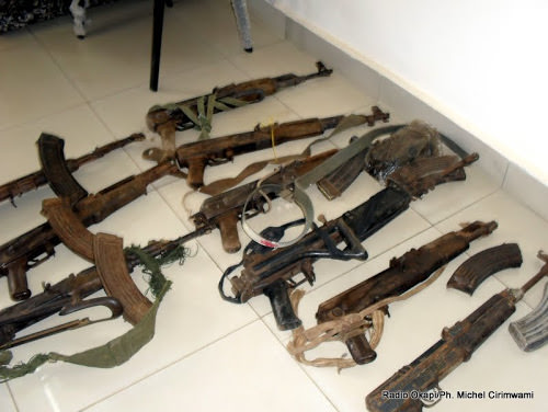RDC: validation du plan d'action quinquennal de contrôle d'armes légères