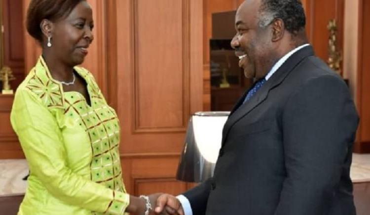 Louise Muhikiwabo et Ali Bongo - Louise Mushikiwabo : « J'ai le soutien du président Ali Bongo »