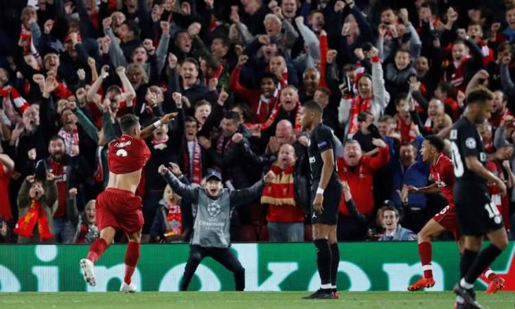 Firmino arrache la victoire pour Liverpool contre le PSG (3-2)
