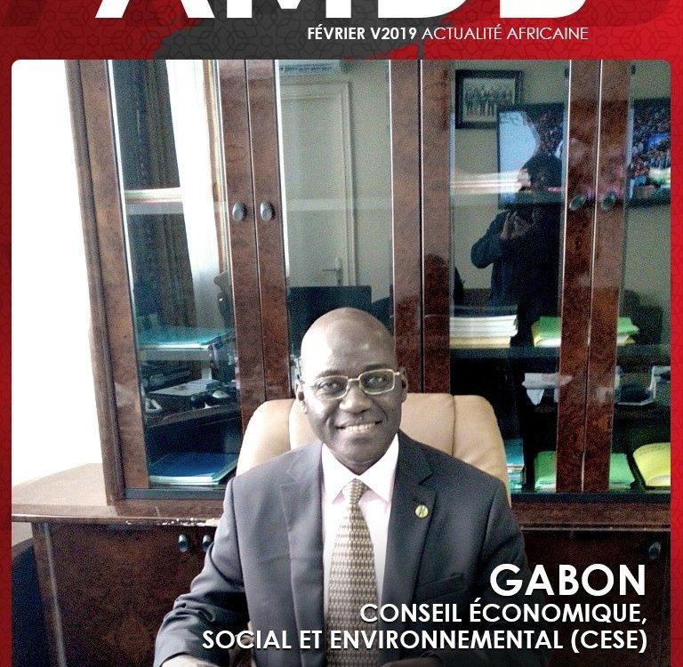 1er Questeur du CESE Gabon, M. Daladier-Hubert Minang Fils
