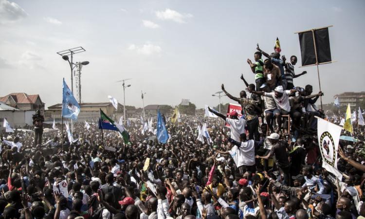 """L'opposant congolais Fayulu appelle ses troupes à la """"résistance pacique"""""""