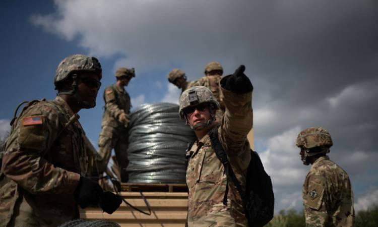 Le Pentagone envoie 3.750 soldats de plus à la frontière mexicaine
