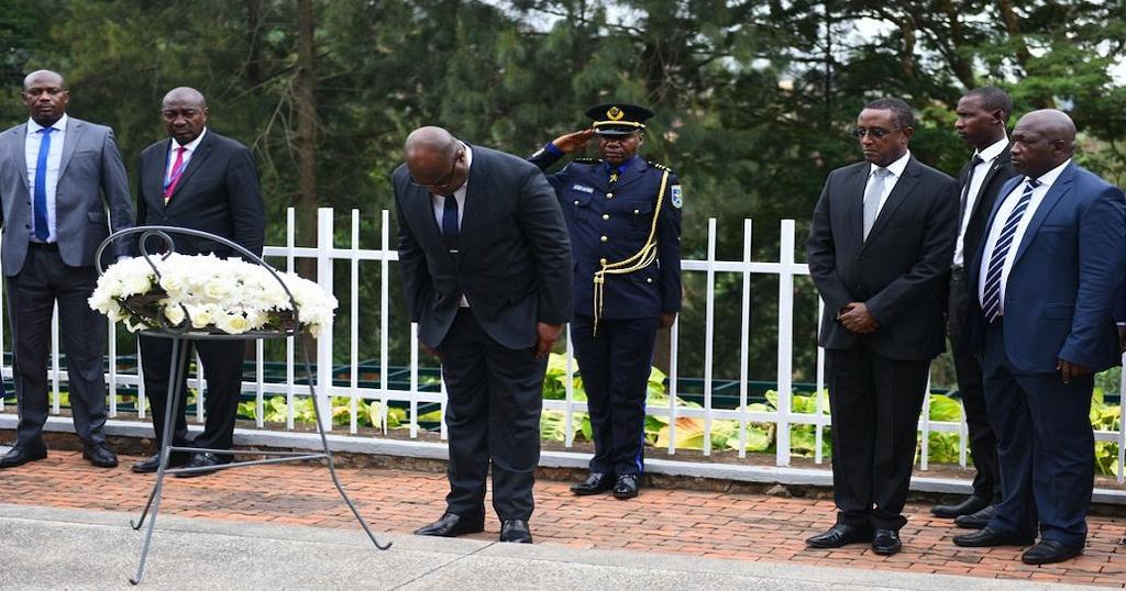 1024x538 709503 - Félix Tshisekedi au mémorial du génocide à Kigali, une première