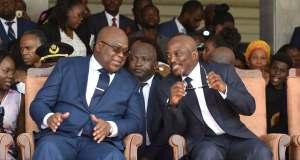 """Macron appelle Tshisekedi à """"prendre son autonomie"""" vis-à-vis de Kabila"""