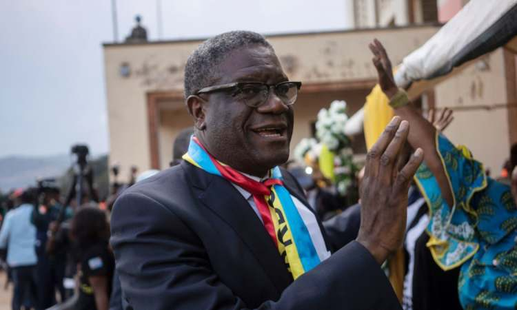 Dr. Mukwege asengi Félix Tshisekedi aboya koteka elikya ya bana ya Congo