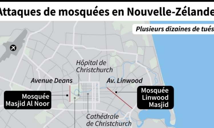 La propagation de la vidéo du massacre de Christchurch, défi pour les plateformes internet