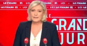"""France: Marine Le Pen """"Les migrants, c'est comme les éoliennes. Tout le monde est d'accord pour qu'il y en ait, mais personne ne veut que ce soit à coté de chez lui."""""""
