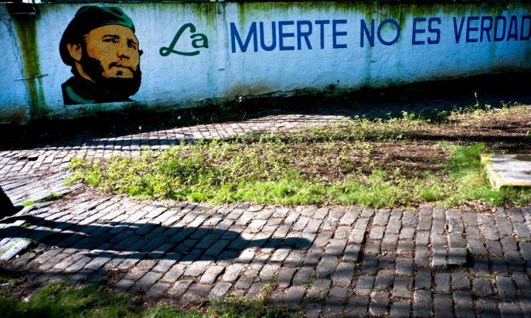 Intervention de la police cubaine contre une manifestation d'étudiants congolais