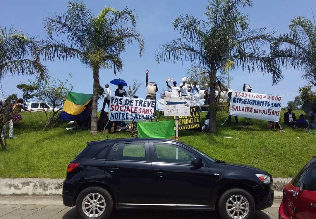 Gabon: Un piquet de grève au seuil d'une rencontre entre le gouvernement et les partenaires sociaux