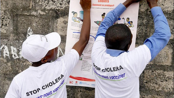 RDC: l'OMS annonce 800.000 vaccinations contre le choléra dans l'est du pays