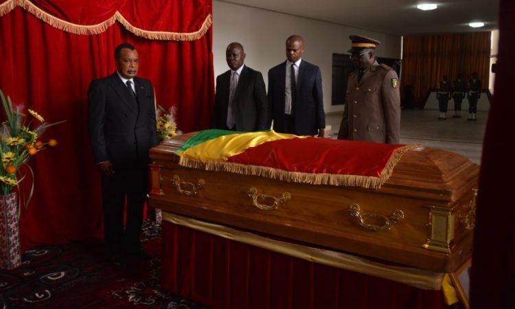 CONGO/DECES: Denis Sassou N'Guesso rend hommage au colonel Michel Gangouo